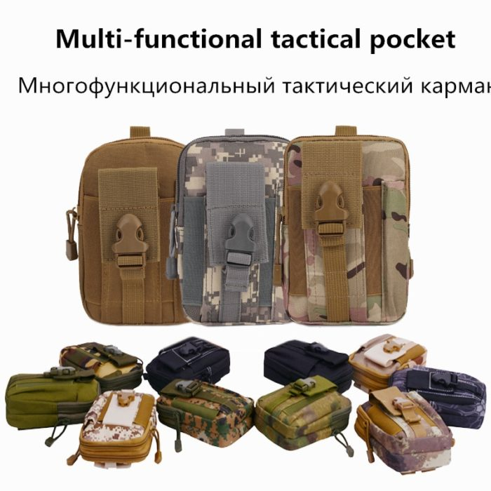 Tactical Bag Mens Belt Bags
