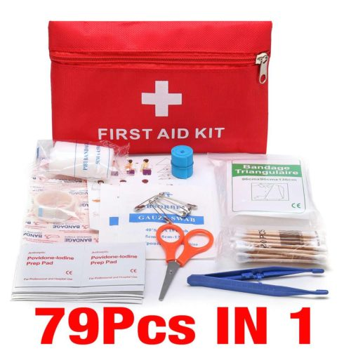Car Emergency Kit First Aid Bag