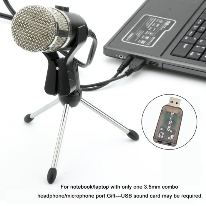 USB Microphone Karaoke PC Recording