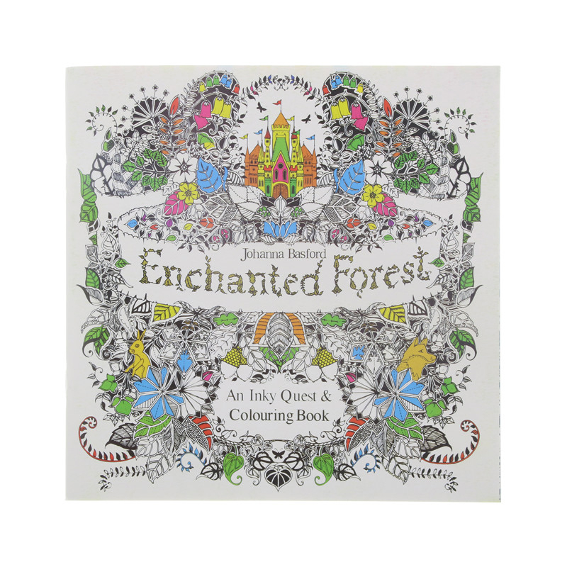 - Adult Coloring Book Enchanted Forest - Life Changing Products