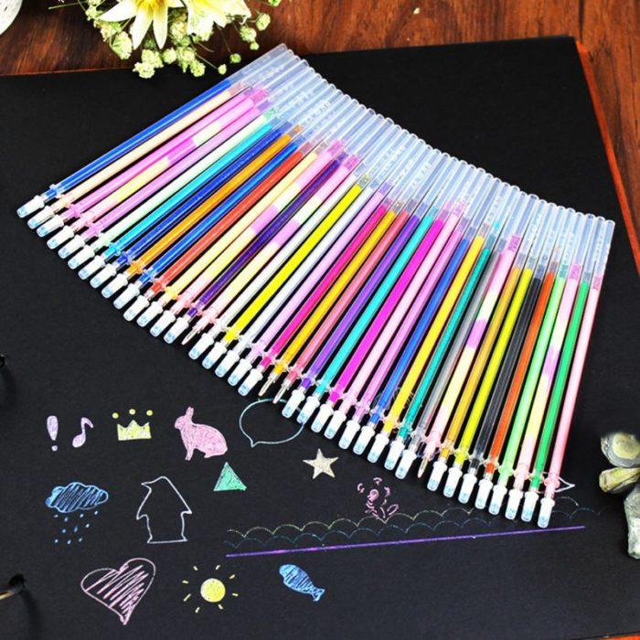 Pen Refills Multi Color Gel Pens