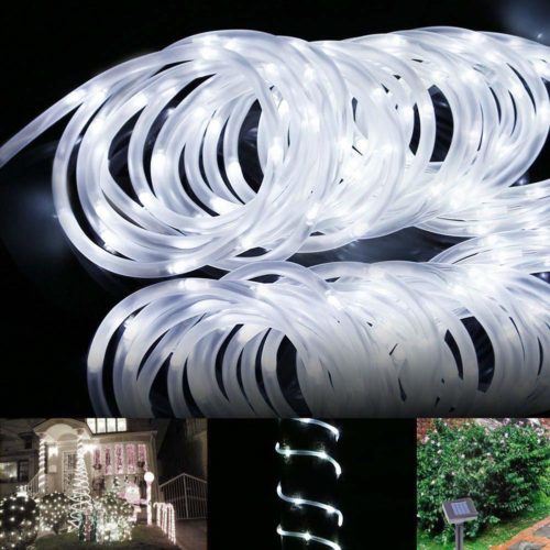 Solar Rope Lights LED Garden Decorations