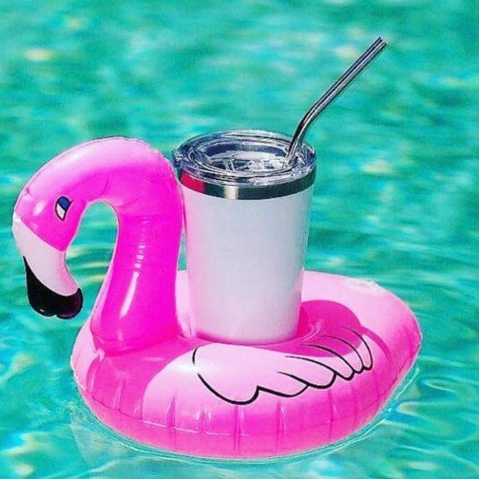 Flamingo Float Inflatable Drink Holder