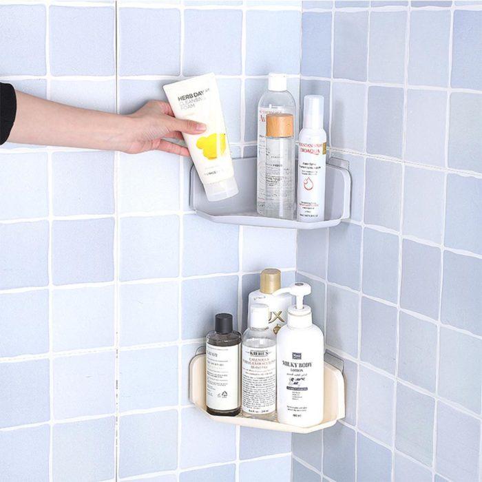 Corner Shelf Bathroom Organizer