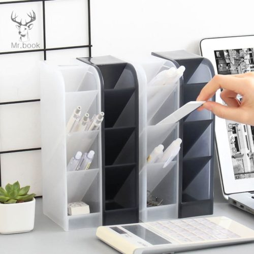 Pen Holder for Desk Plastic Organizer