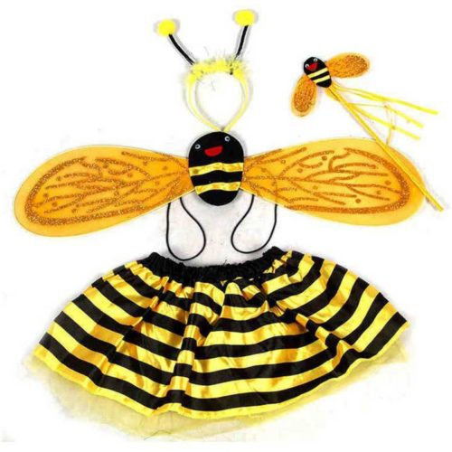 Bumble Bee Costume 4PC Set