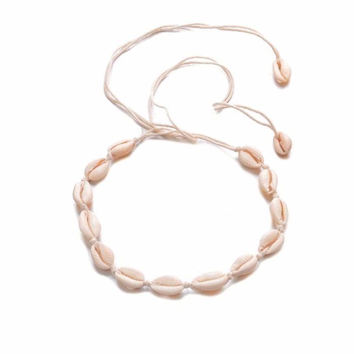 Shell Choker Bohemian Necklace