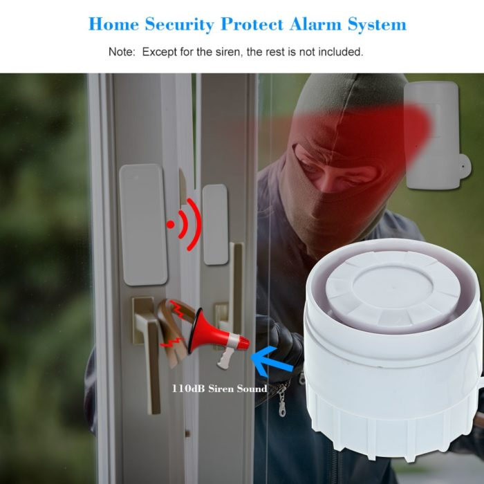 Siren Alarm Home Security System