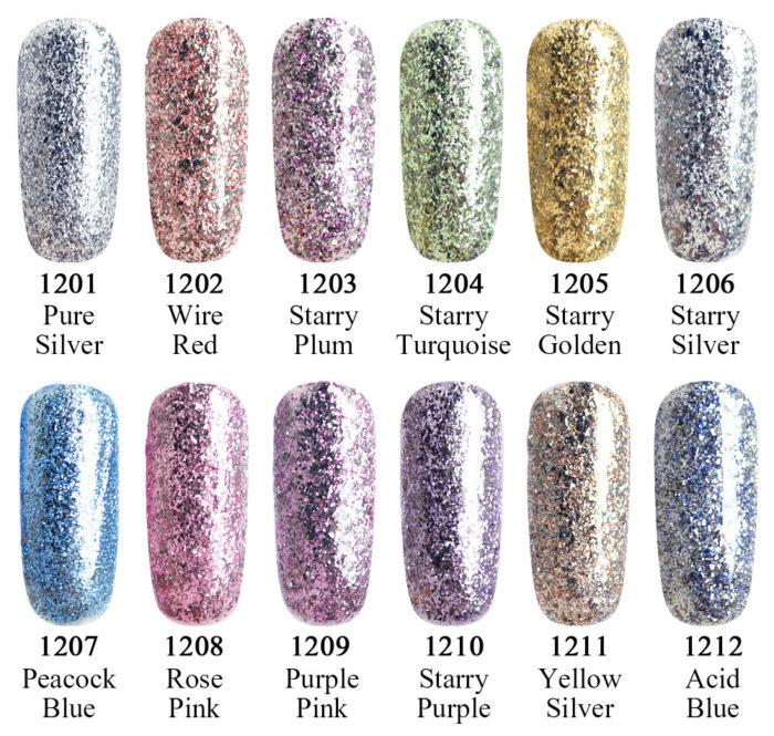 Gel Nail Colors UV/LED Coat