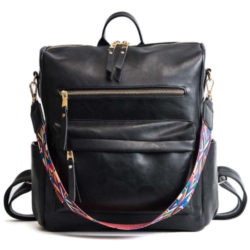 Leather Rucksack Multiform Backpack
