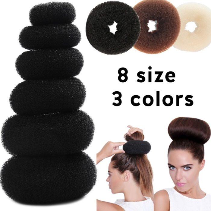 Hair Bun Maker Donut Foam
