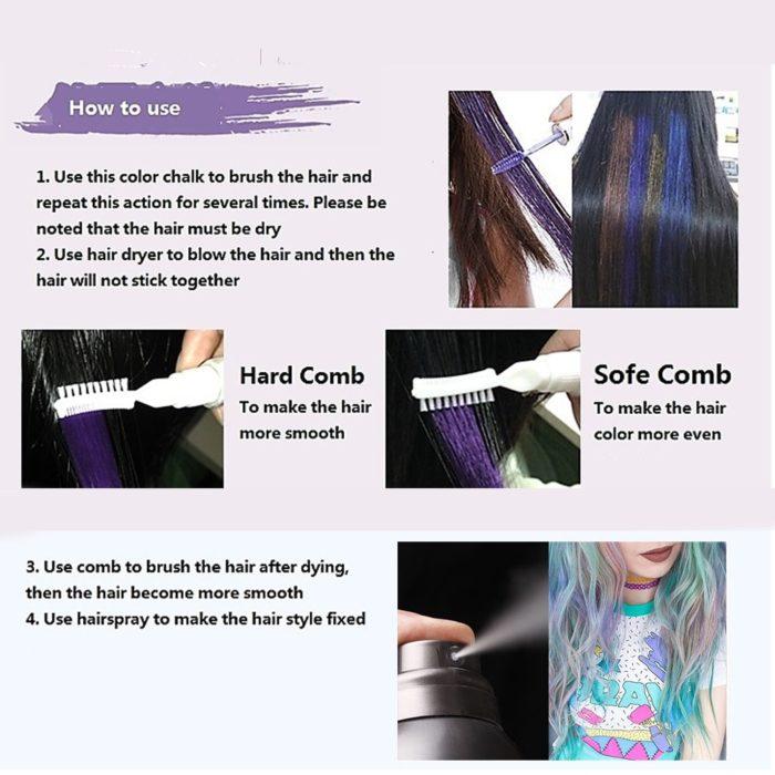 Temporary Hair Color Non-toxic Hair Dye