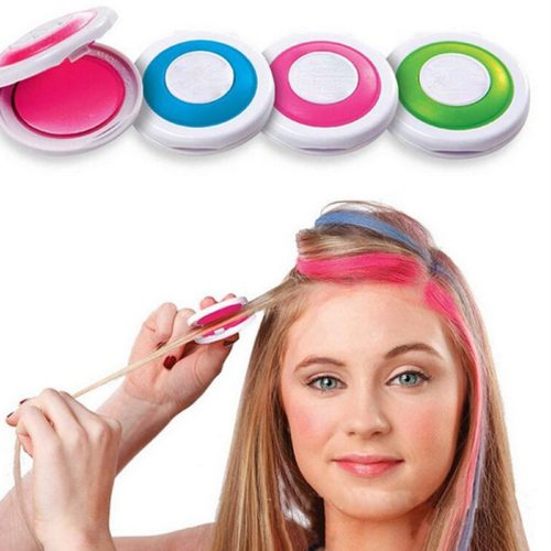Hair Chalk Temporary Color 4PC Set
