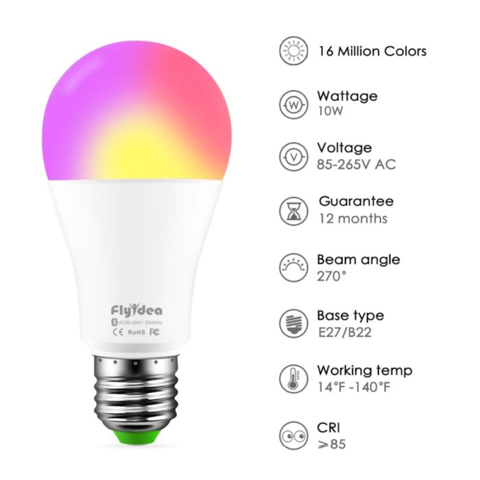 Color Changing Light Bulb LED Lamp