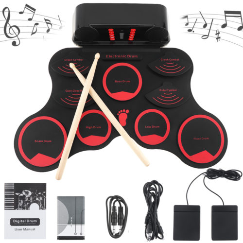 Drum Pad Machine Musical Kit