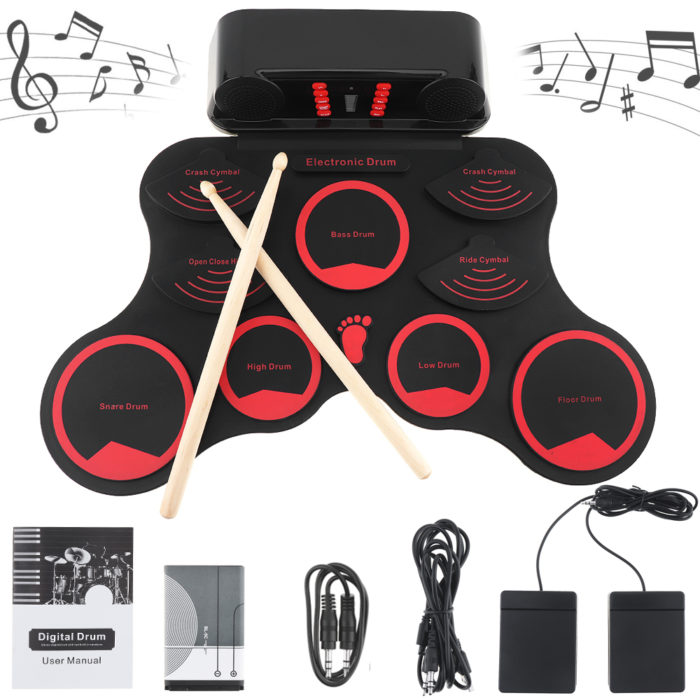 Drum Pad Machine Musical Kit