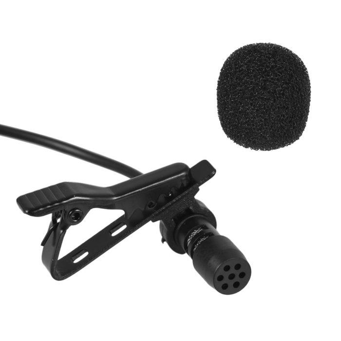 Phone Microphone Mini Clip-on Mic