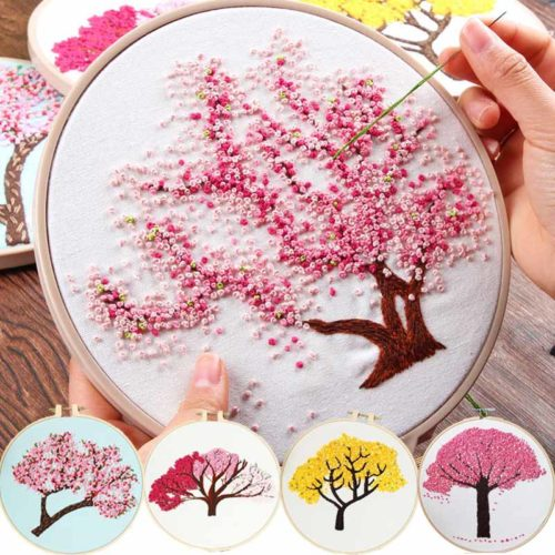 Embroidery Kits DIY Home Decor