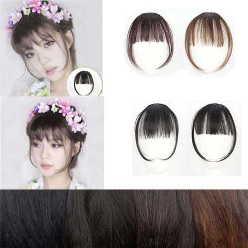 Clip in Bangs Hair Extension