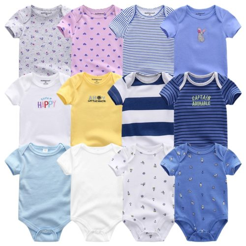 Unisex Newborn Baby Clothes Daily Pieces