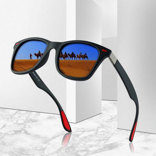 Square Sunglasses Polarized Lens