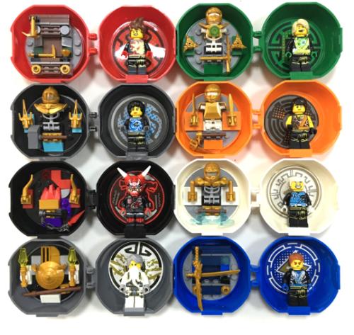Lego Figures Ninjago Block Toys(8 pcs)