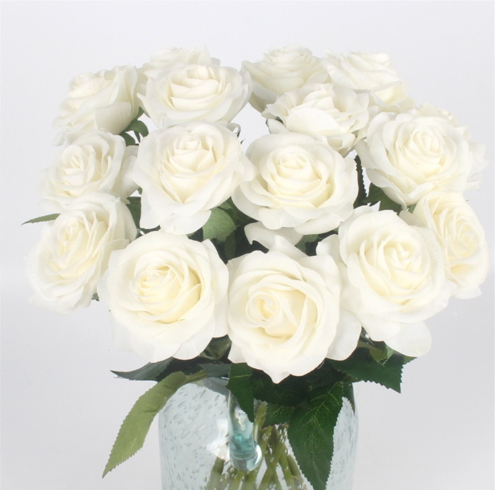 Artificial Flowers Rose Real Touch