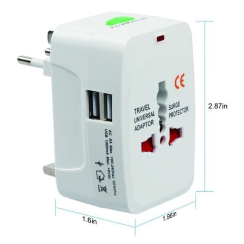 Universal Plug Adapter International Travel