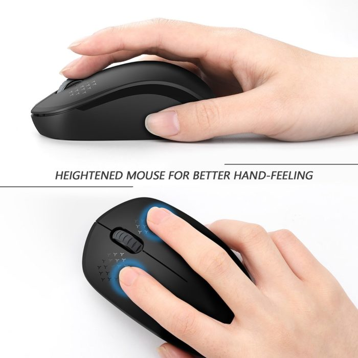 Wireless Mouse For Laptop Portable Device