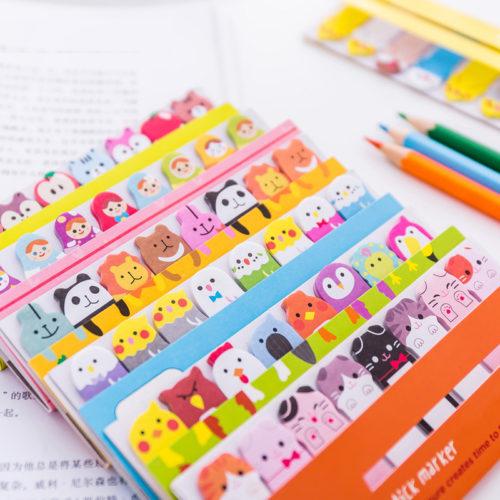 Memo Pad Cute Bookmarks