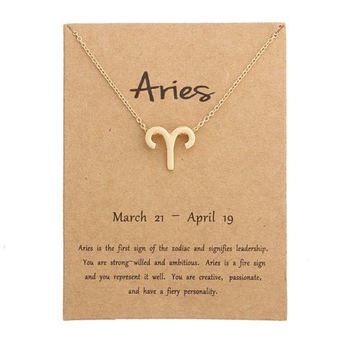 Zodiac Necklace Fashion Accessory