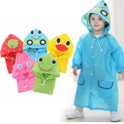Kids Poncho Children Raincoat