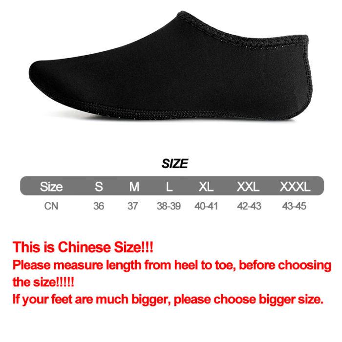 Water Socks Adult Aqua Shoe