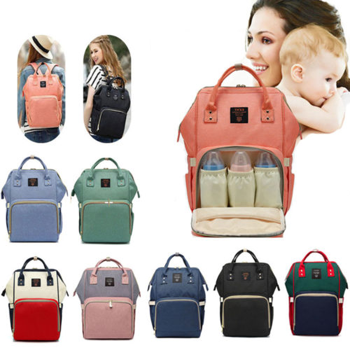 Diaper Backpack Baby Travel Bag
