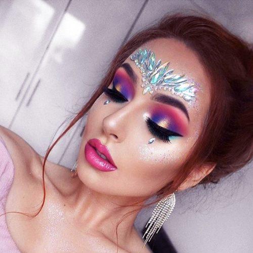 Glitter Tattoos Face Jewel Stickers