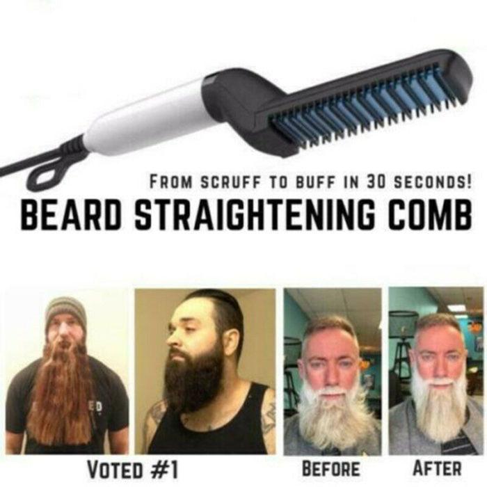 Hair Straightener Comb Quick Styler