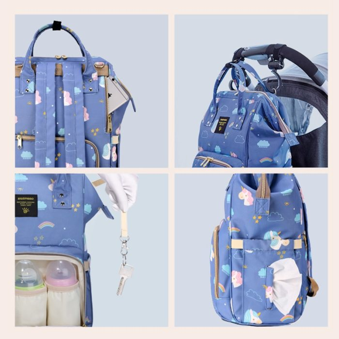 Diaper Bag Backpack Baby Care