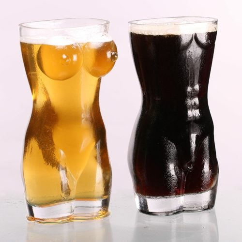 Beer Glasses Sexy Chest Cup