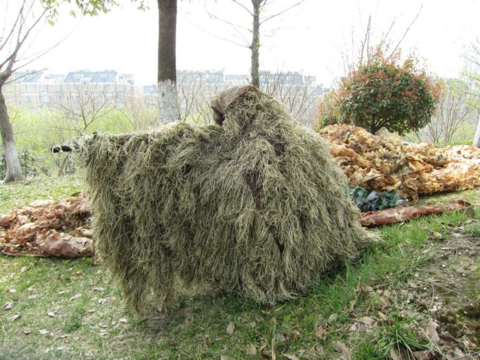 Ghillie Suit Camouflage Outdoor Clothing