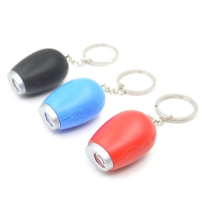 Projection Clock Portable LED Keychain