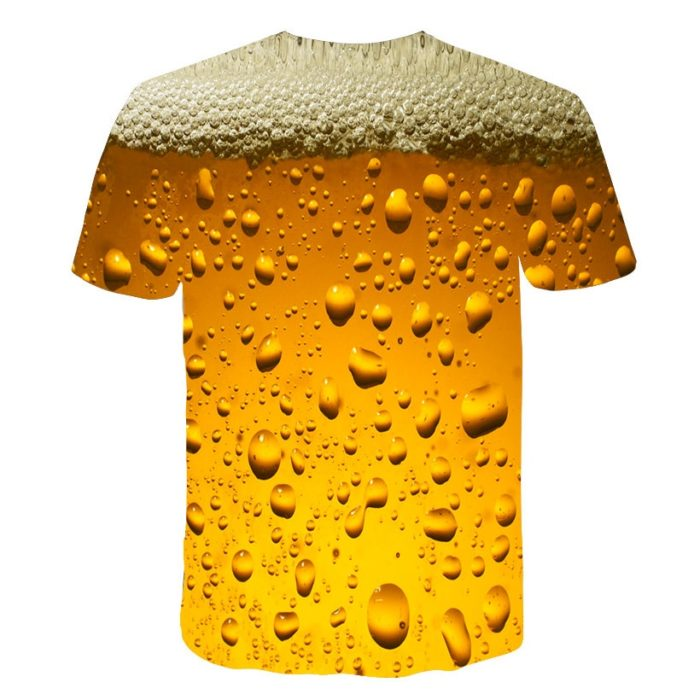 Beer Shirts 3D Print Outfit Clothing