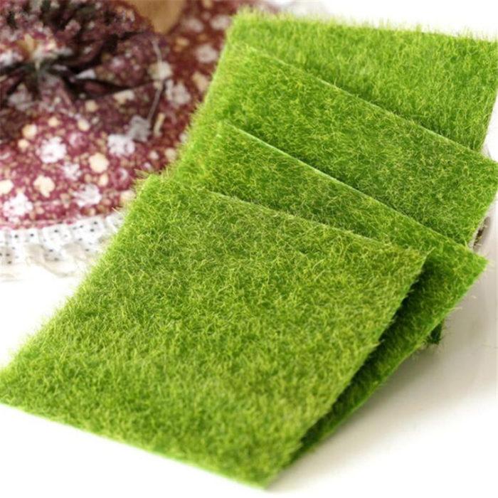 Fake Grass Artificial Lawn Moss