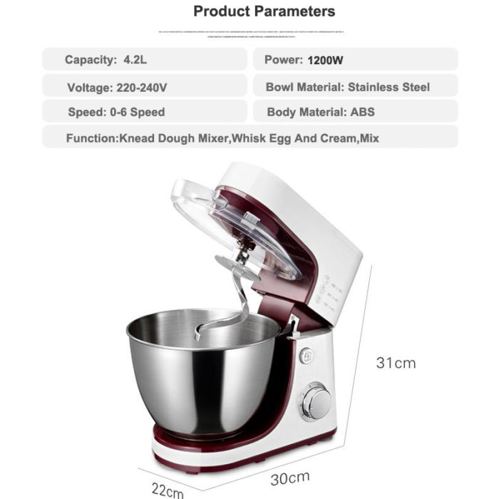 Stand Mixer Electric Kneading Machine