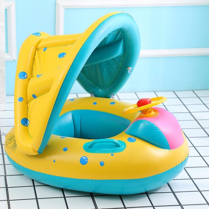 Infant Pool Float with Sunshade