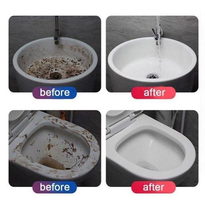 Toilet Bowl Cleaner Quick Foaming Detergent
