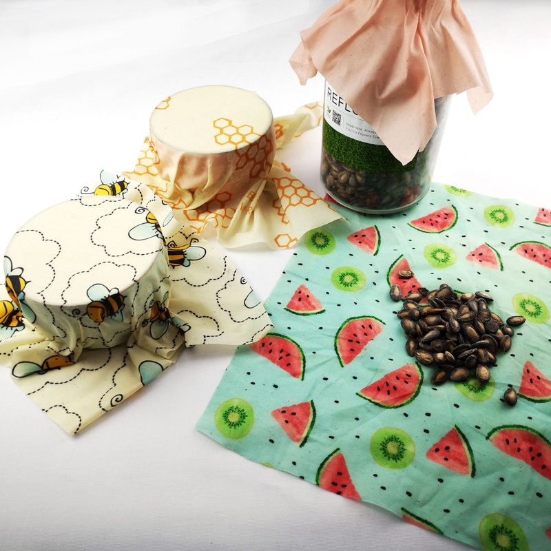 Beeswax Food Wrap Reusable Sheet Life Changing Products