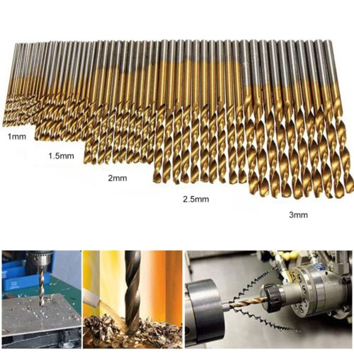 Woodworking Hand Tools 50PC Drill Bits