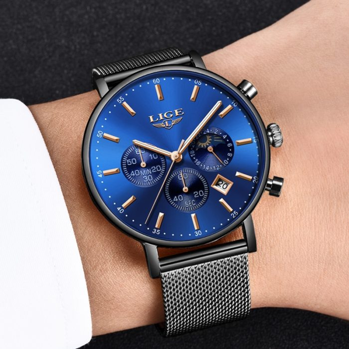 Mens Luxury Watch Stainless Steel