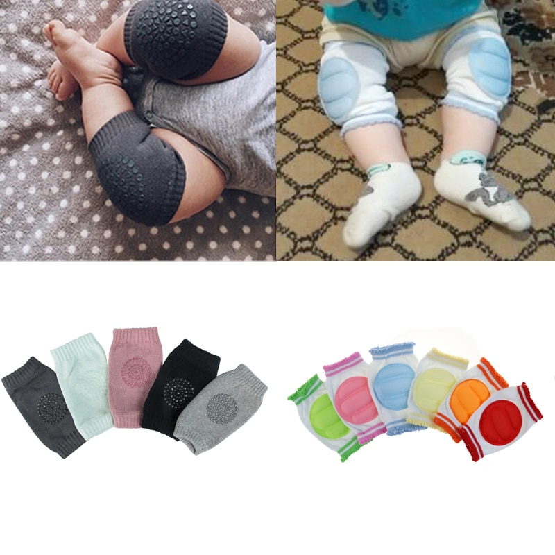 5 Pairs Baby Toddlers Kneepads Crawling Anti-Skid Knees Male And Female General