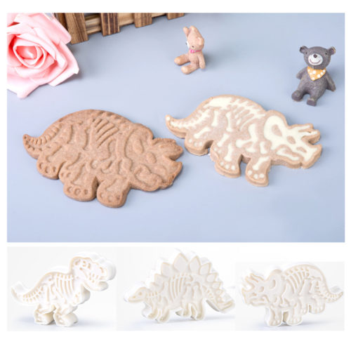 Dinosaur Cookie Cutters Embossing Molds